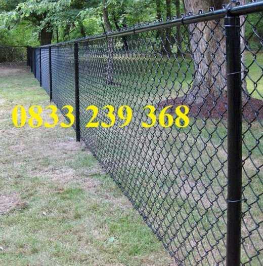 Lưới thép B40 mạ kẽm và bọc nhựa ô 50x50, 60x60 khổ 2m, 2,2m0