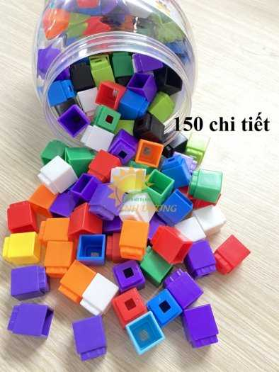 Đồ chơi lego mini dành cho bé mầm non vui chơi, giải trí, phát triển trí tuệ19