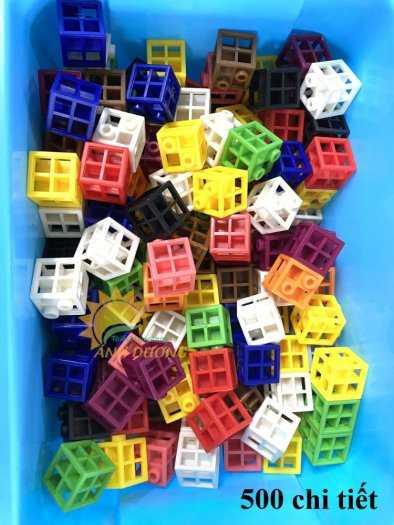 Đồ chơi lego mini dành cho bé mầm non vui chơi, giải trí, phát triển trí tuệ15