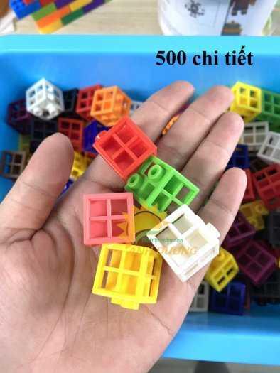 Đồ chơi lego mini dành cho bé mầm non vui chơi, giải trí, phát triển trí tuệ14