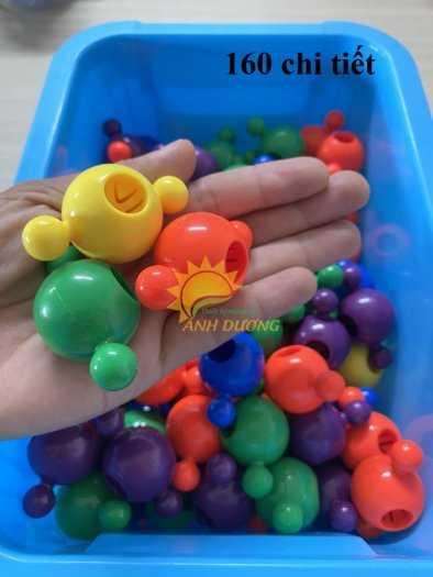 Đồ chơi lego mini dành cho bé mầm non vui chơi, giải trí, phát triển trí tuệ12