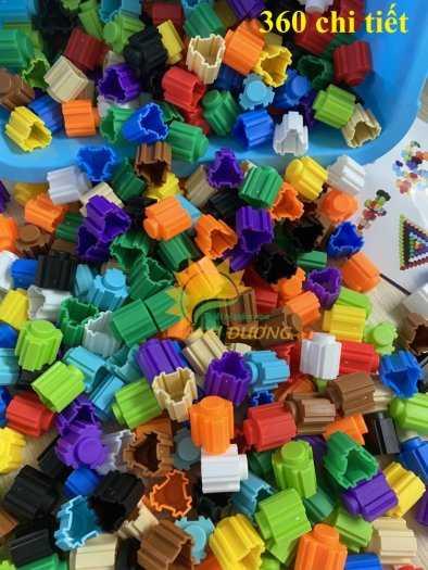 Đồ chơi lego mini dành cho bé mầm non vui chơi, giải trí, phát triển trí tuệ10