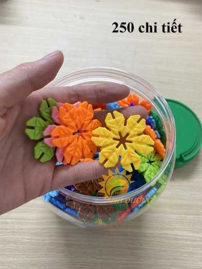 Đồ chơi lego mini dành cho bé mầm non vui chơi, giải trí, phát triển trí tuệ8