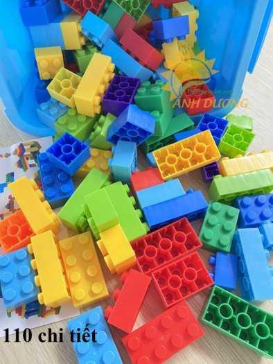 Đồ chơi lego mini dành cho bé mầm non vui chơi, giải trí, phát triển trí tuệ5