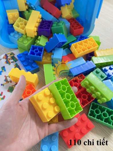 Đồ chơi lego mini dành cho bé mầm non vui chơi, giải trí, phát triển trí tuệ4