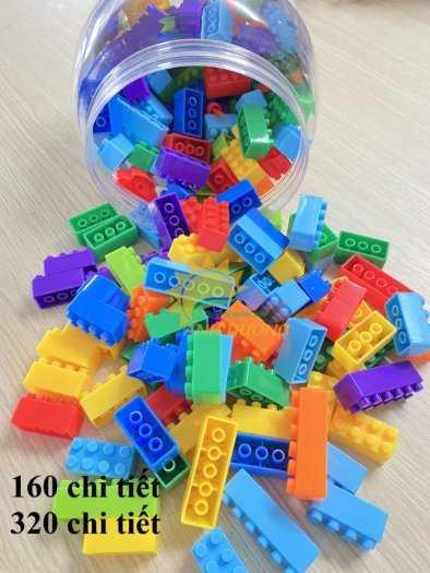 Đồ chơi lego mini dành cho bé mầm non vui chơi, giải trí, phát triển trí tuệ3