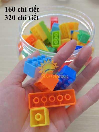 Đồ chơi lego mini dành cho bé mầm non vui chơi, giải trí, phát triển trí tuệ2