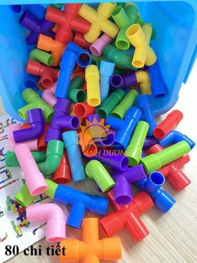 Đồ chơi lego mini dành cho bé mầm non vui chơi, giải trí, phát triển trí tuệ1
