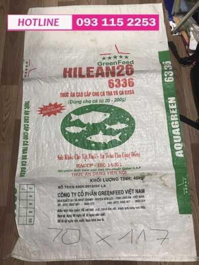 Bao Thức Ăn Thủy sản, bao con cò, bao cá basa có sẵn tại kho giá rẽ7
