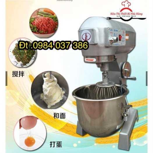 Máy trộn bột làm bánh, máy nhào bột đánh trứng B20L ( 20L)0