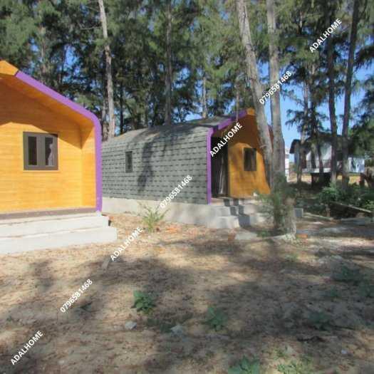 Ngói biutm cana và nhà gỗ, bungalow7