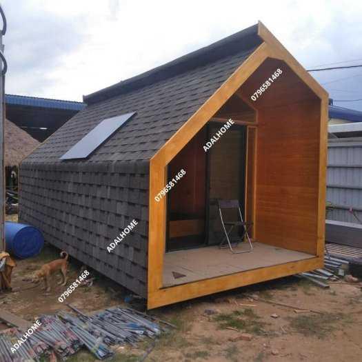Ngói biutm cana và nhà gỗ, bungalow6