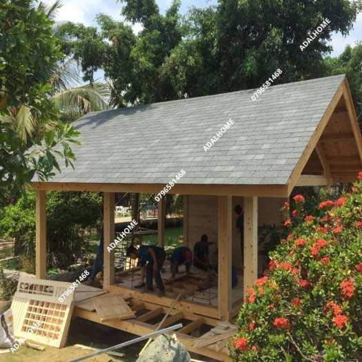 Ngói biutm cana và nhà gỗ, bungalow5