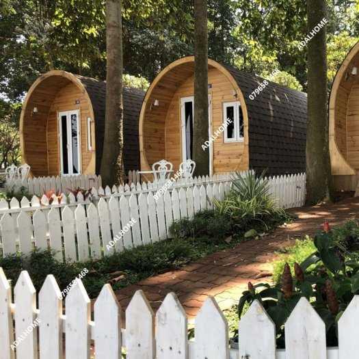 Ngói biutm cana và nhà gỗ, bungalow1
