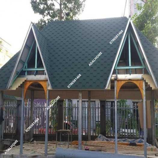 Ngói biutm cana và nhà gỗ, bungalow0