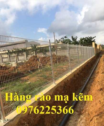 Hàng rào mạ nhúng nóng phi 4, phi5 mắt lưới 50x150, 50x2007
