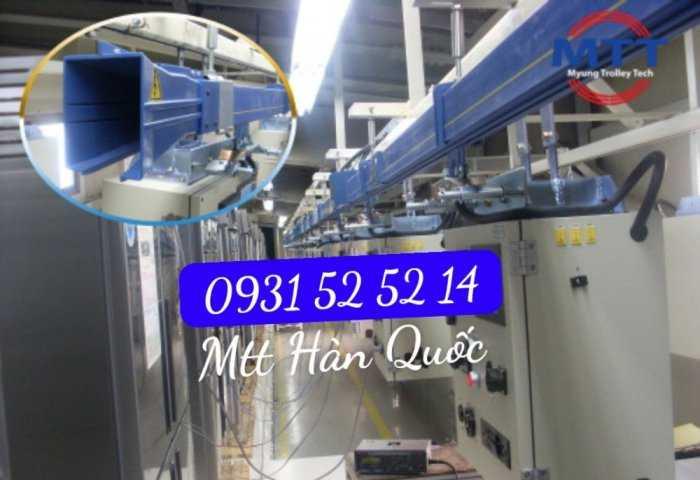 Ray Điện Cầu Trục 200a Hàn Quốc - Trolley Bar Myungshin59