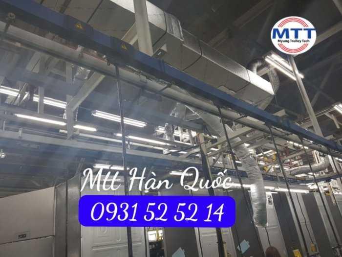 Ray Điện Cầu Trục 200a Hàn Quốc - Trolley Bar Myungshin56