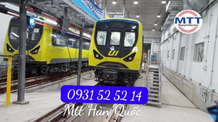 Ray Điện Cầu Trục 200a Hàn Quốc - Trolley Bar Myungshin26