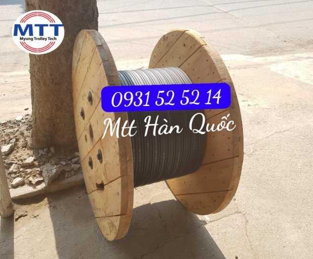 Ray Điện Cầu Trục 200a Hàn Quốc - Trolley Bar Myungshin10