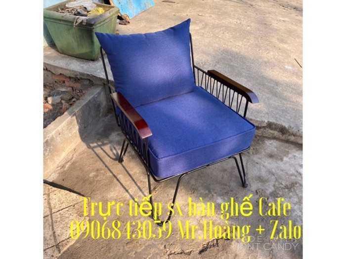 Bộ bàn ghế sắt nệm giá xưởng - nội thất Nguyễn hoàng1