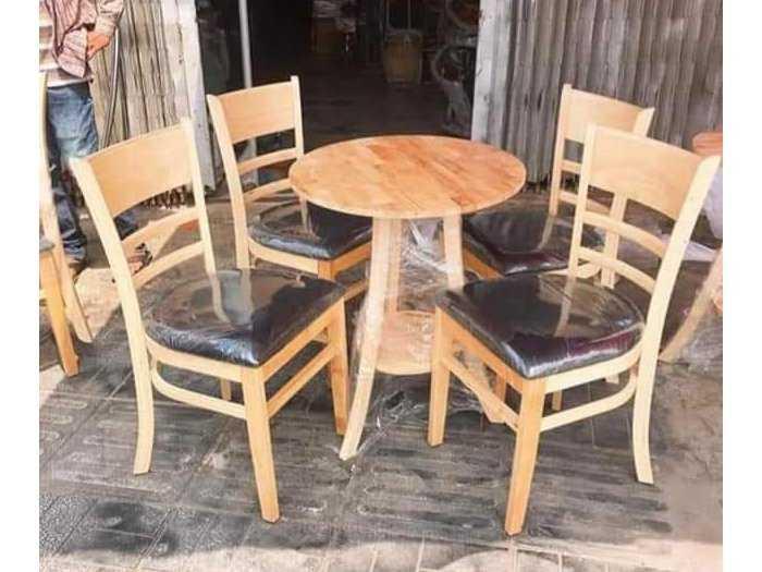 Bộ bàn ghế gỗ cage giá tại xưởng