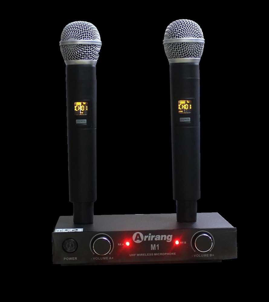 Micro không dây Arirang M1 tần số siêu cao UHF giá tầm trung