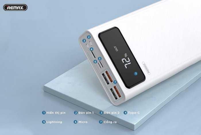 Pin Sạc dự phòng REMAX RPP-112 30.000MAH Chính Hãng REMAX1