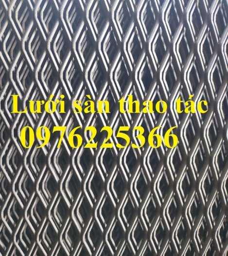 Lưới sàn thao tác, lưới mắt cáo làm sàn thao tác 3ly, 4ly, 5ly0