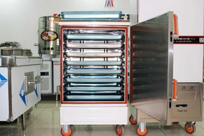 Tủ nấu cơm công nghiệp 4-6-8-10-12 khay0