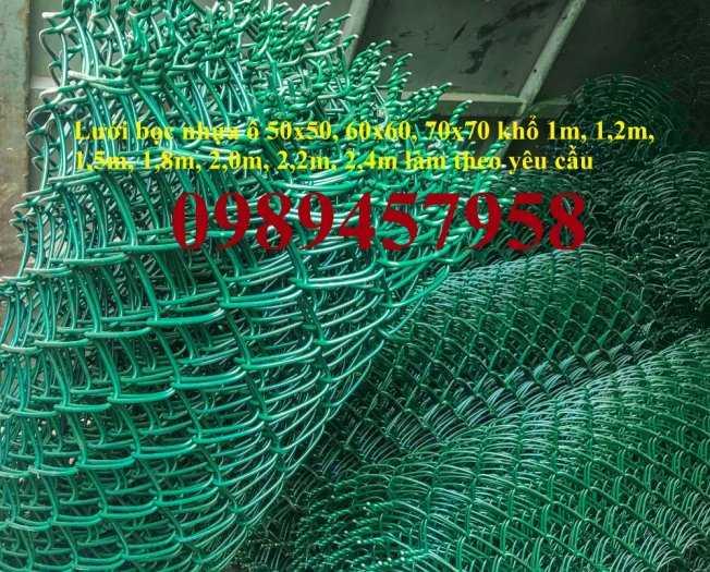 Lưới hàng rào B10, B20, B30, Hàng rào chăn nuôi mạ kẽm, Bọc nhựa 20x20, 30x3014