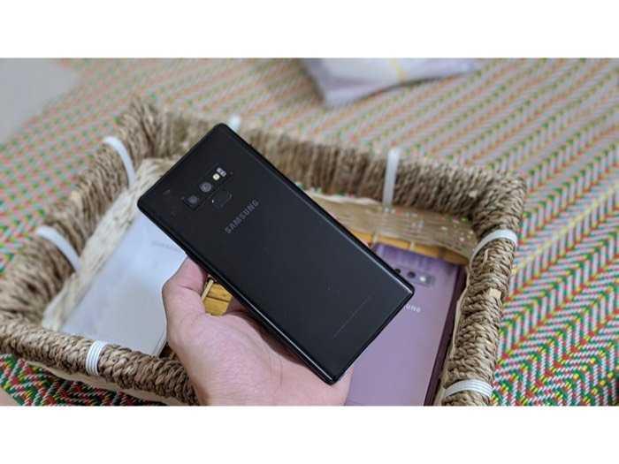 Samsung galaxy Note 9 2 sim cấu hình khủng 6/128gb hỗ trợ trả góp 0%2