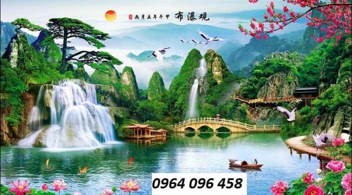 Tranh gạch phong cảnh thiên nhiên 3d - CBV549