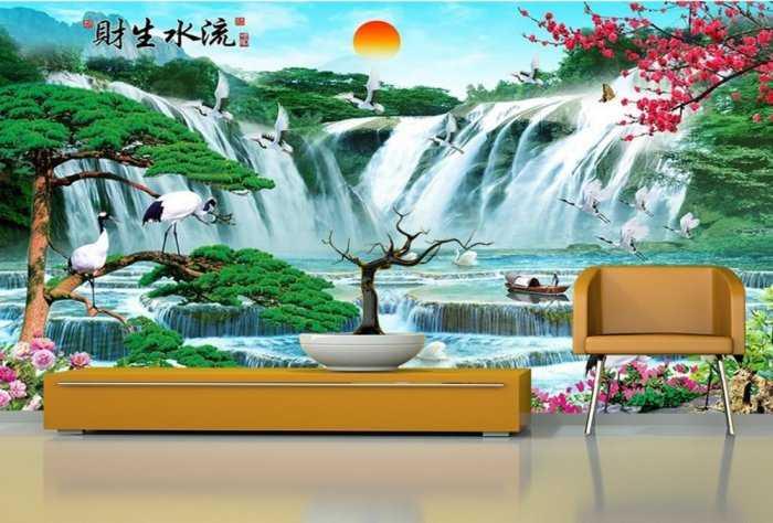Tranh gạch phong cảnh thiên nhiên 3d - CBV546
