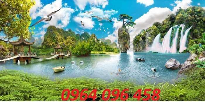 Tranh gạch phong cảnh thiên nhiên 3d - CBV543