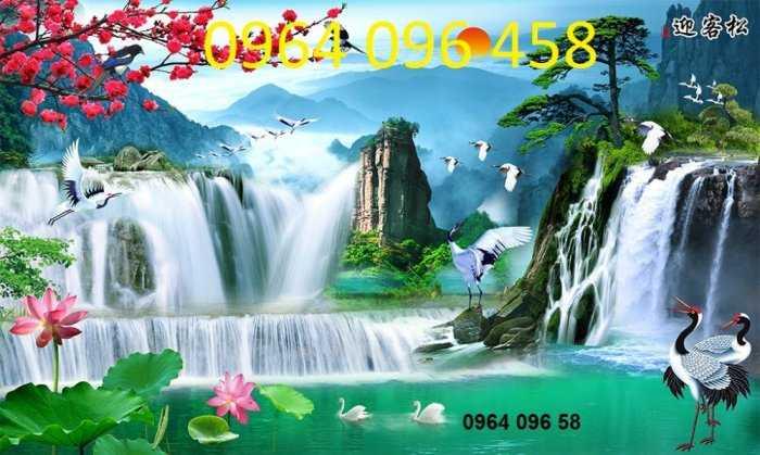 Tranh gạch phong cảnh thiên nhiên 3d - CBV541