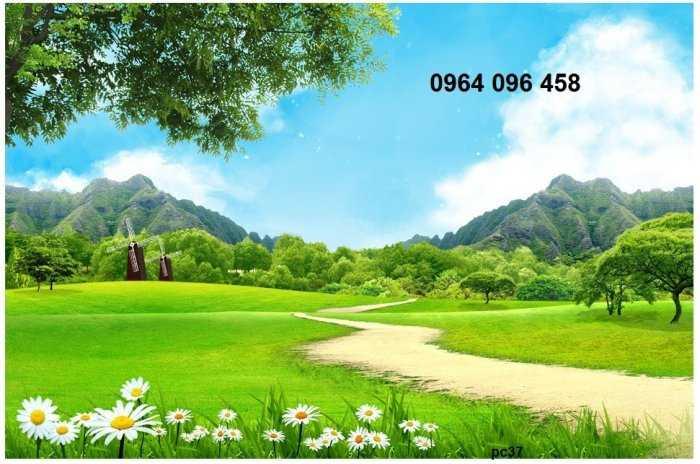 Tranh gạch phong cảnh thiên nhiên 3d - CBV540