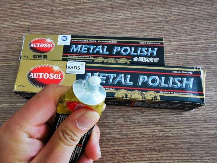 Kem Đánh Bóng Làm Sáng Kim Loại Made In Germany Autosol 50g - AMIG509