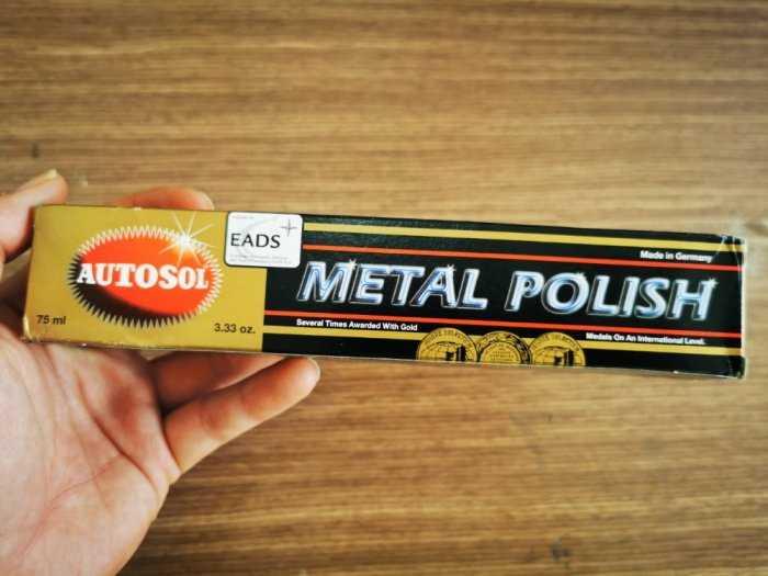 Kem Đánh Bóng Làm Sáng Kim Loại Made In Germany Autosol 50g - AMIG505