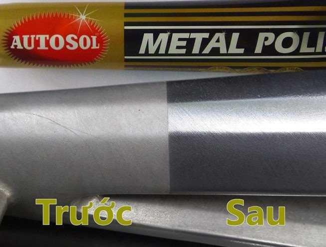 Kem Đánh Bóng Làm Sáng Kim Loại Made In Germany Autosol 50g - AMIG503