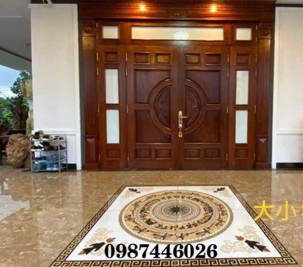 Gạch thảm sàn trang trí sảnh,lát nền phòng khách HP1005