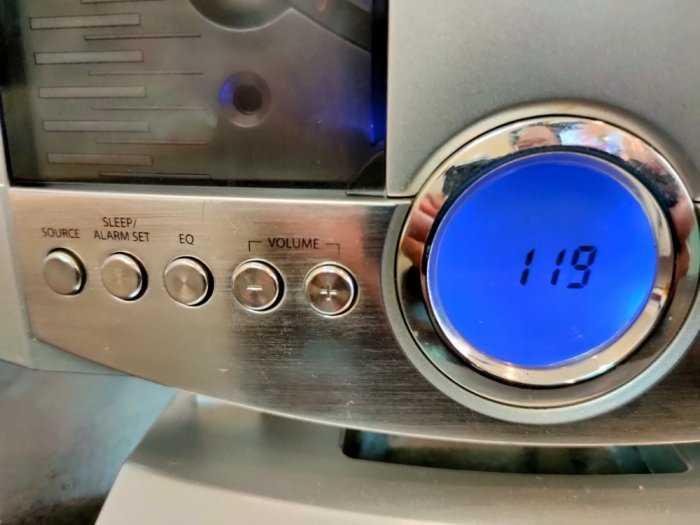 Dàn máy CD mini GPX HM3817DT .4