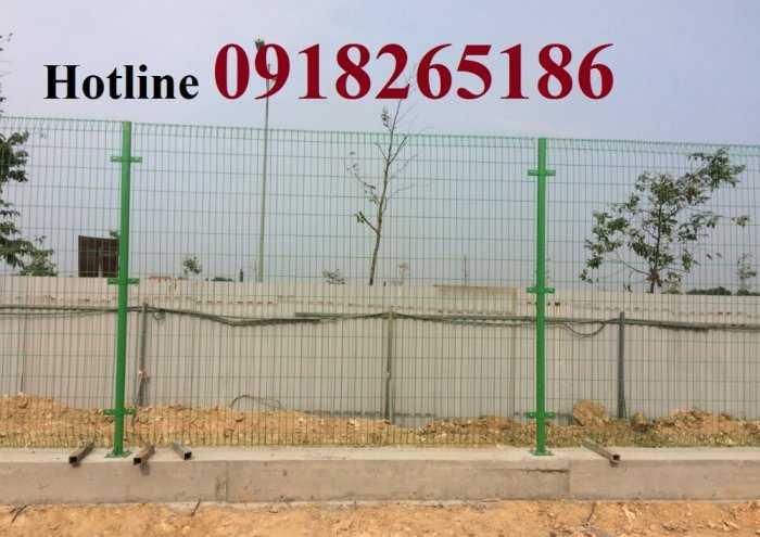 Hàng rào sơn tĩnh điện phi 4, Hàng rào nhà máy, Hàng rào trang trại3