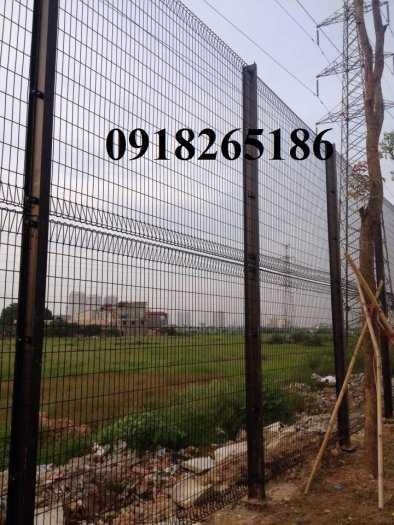 Hàng rào sơn tĩnh điện phi 4, Hàng rào nhà máy, Hàng rào trang trại1