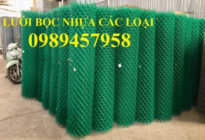 Lưới mắt cáo bọc nhựa, Lưới thép bọc nhựa ô 50x50, 60x60 khổ 1,8m, 2m, 2,2m và 2,4m8