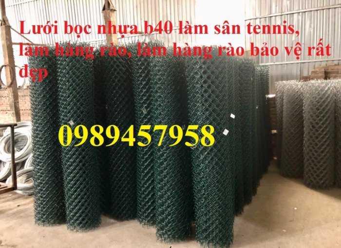 Lưới mắt cáo bọc nhựa, Lưới thép bọc nhựa ô 50x50, 60x60 khổ 1,8m, 2m, 2,2m và 2,4m7