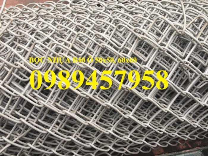 Lưới mắt cáo bọc nhựa, Lưới thép bọc nhựa ô 50x50, 60x60 khổ 1,8m, 2m, 2,2m và 2,4m6