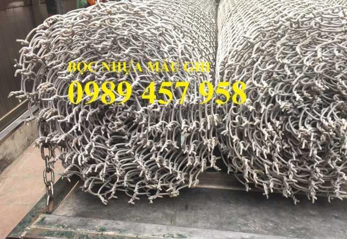 Lưới mắt cáo bọc nhựa, Lưới thép bọc nhựa ô 50x50, 60x60 khổ 1,8m, 2m, 2,2m và 2,4m5