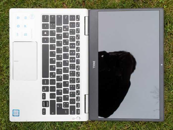 Laptop Dell N7370/ Coire i5 8250 8CPUS/ 8G/ SSD256/ 13in/ Full HD IPS/ Finger/ LED PHÍM/ 180 Độ/ Doanh Nhân/ Giá rẻ0