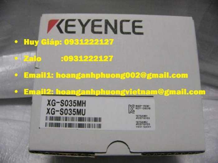 XG-S035MU hệ thống tầm nhìn keyence1